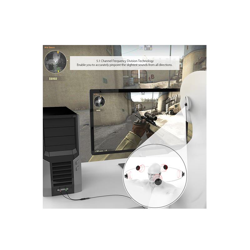 dodocool 入耳式5.1環繞聲立體聲耳機