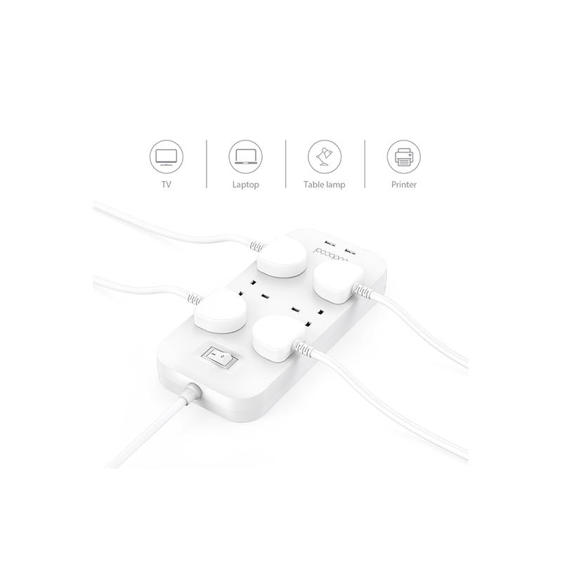 dodocool 6位AC插座電源板
