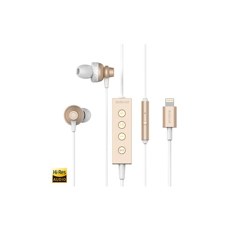 dodocool Hi-Res耳機帶Lightning連接器