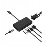 dodocool 7-in-1 USB-C 多功能轉換器 (包電源)