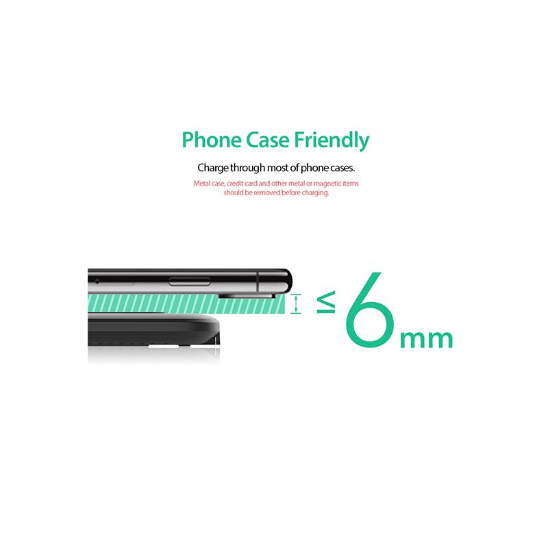 dodocool 10W超薄Micro-USB快速無線充電器
