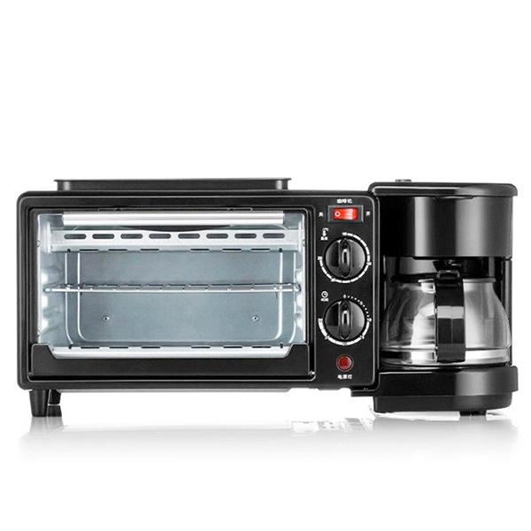 TSK 電烤箱煎鍋一體式三合一咖啡機