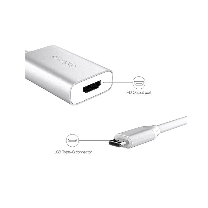 dodocool USB-C 鋁合金高清輸出適配器