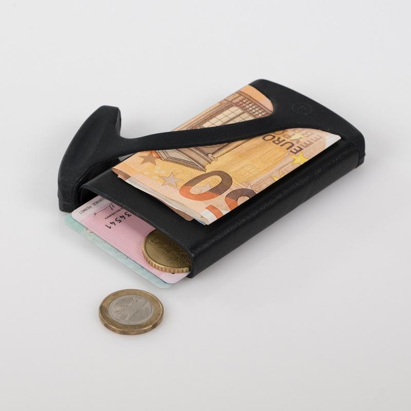 Muemma HUG Wallet 防盜卡片收納皮革銀包 [2色]