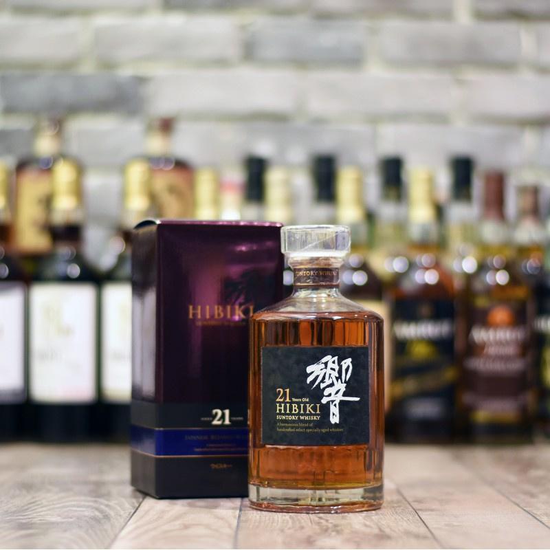 SUNTORY - HIBIKI 21 YEARS OLD - 響 HIBIKI 21年威士忌 - 700ml (本店現貨.日本己停產)