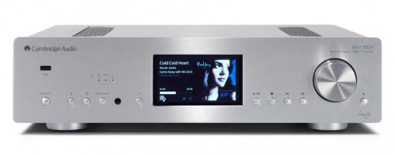 Cambridge Audio 851N 旗艦級網絡播放器+前級解碼器 (Silver)