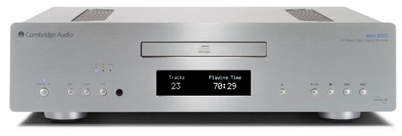 Cambridge Audio 851C 旗艦級升频DAC+CD播放器和前置放大器