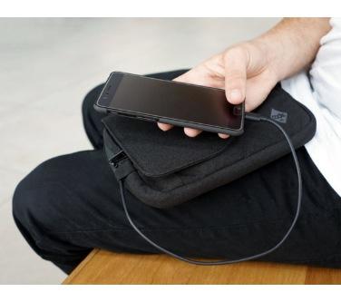 Code 10 Sling RFID-Secure 多功能防盜防割便攜側肩包