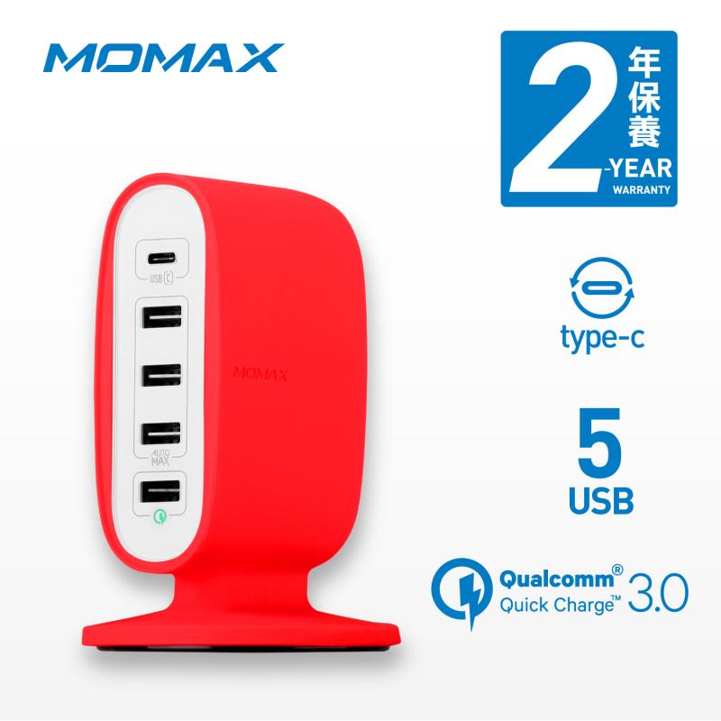MOMAX U.Bull Type-C + Q.C 3.0 5 USB 數碼充電座 [2色]