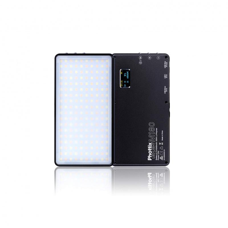 Phottix - M180 Mobile LED 手提流動攝影燈