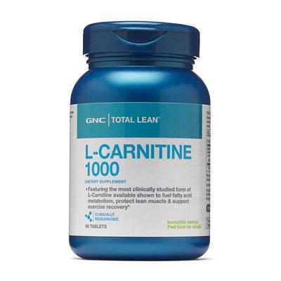 GNC Total Lean L-Carnitine 左旋肉鹼 1000mg [60粒]