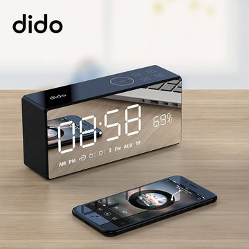 Dido X9 Bluetooth Speaker Alarm Clock 藍牙雙鬧鐘小音響