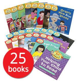 牛津樹 Read with Biff, Chip & Kipper Level 4-6 (25 books)