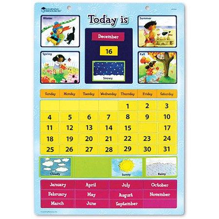 Magnetic Learning Calendar 小朋友月曆表
