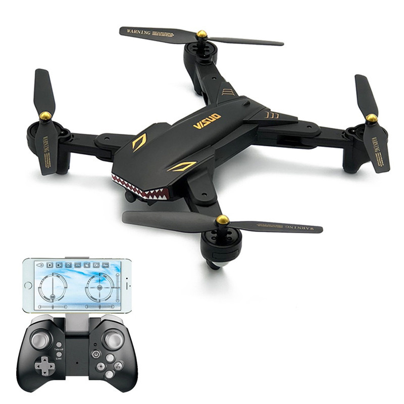 VISUO 升級版XS809S四軸飛行器摺疊定高WIFI圖傳航拍遙控無人機