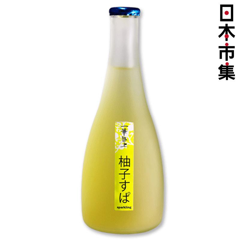 日版 久保田酒造 一筆啓上 清涼有汽柚子酒 300ml【市集世界 - 日本市集】