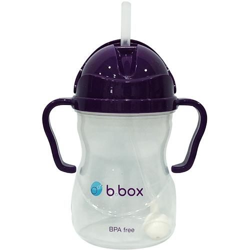 b.box - 防漏吸管學習水杯 240ml (紫色)