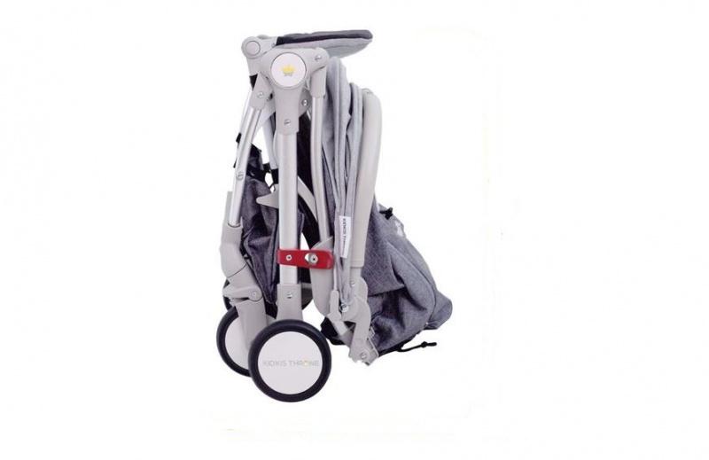 英國 Kidkis Throne 1 便攜式安全嬰兒車 [3色]