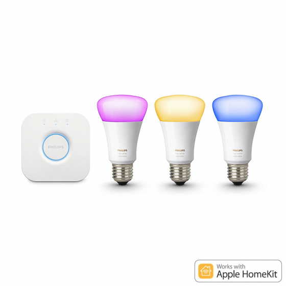 Philips Hue White and Color Ambiance Starter Kit 白光/彩光 3.0 A60 E27 入門套裝