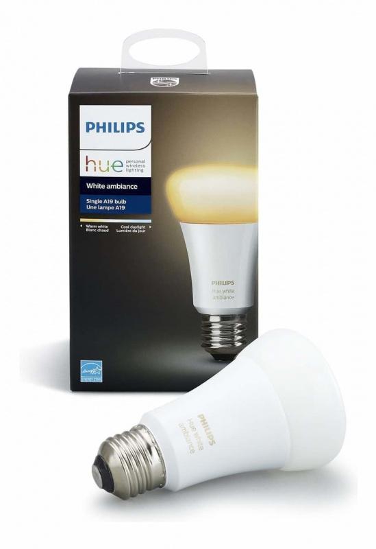 (停產)Philips Hue White Ambiance 白黃色 3.0 A60 E27 燈膽 (行貨2年保養)