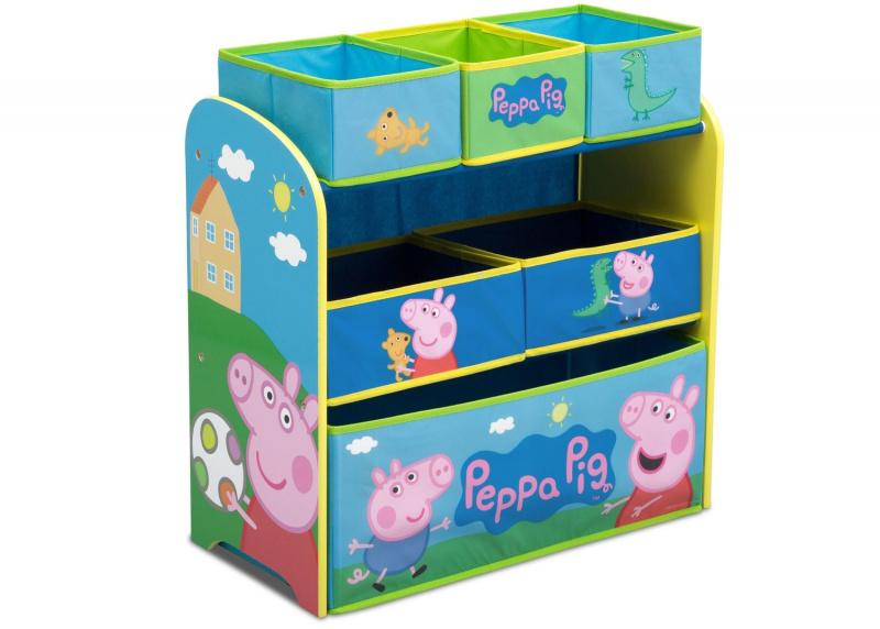 Delta Children Peppa Pig 三層玩具架