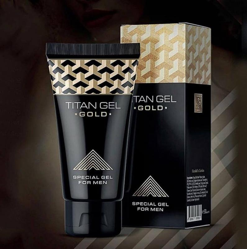 TITAN GEL GOLD 黃金裝凝膠精華素3支套裝