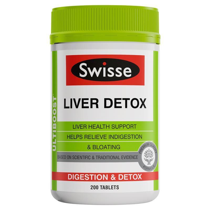 Swisse Ultiboost 肝臟排毒片 (200粒)