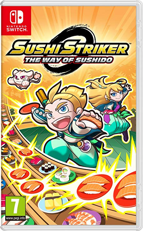 Nintendo Switch Games The Way of Sushido (EU)