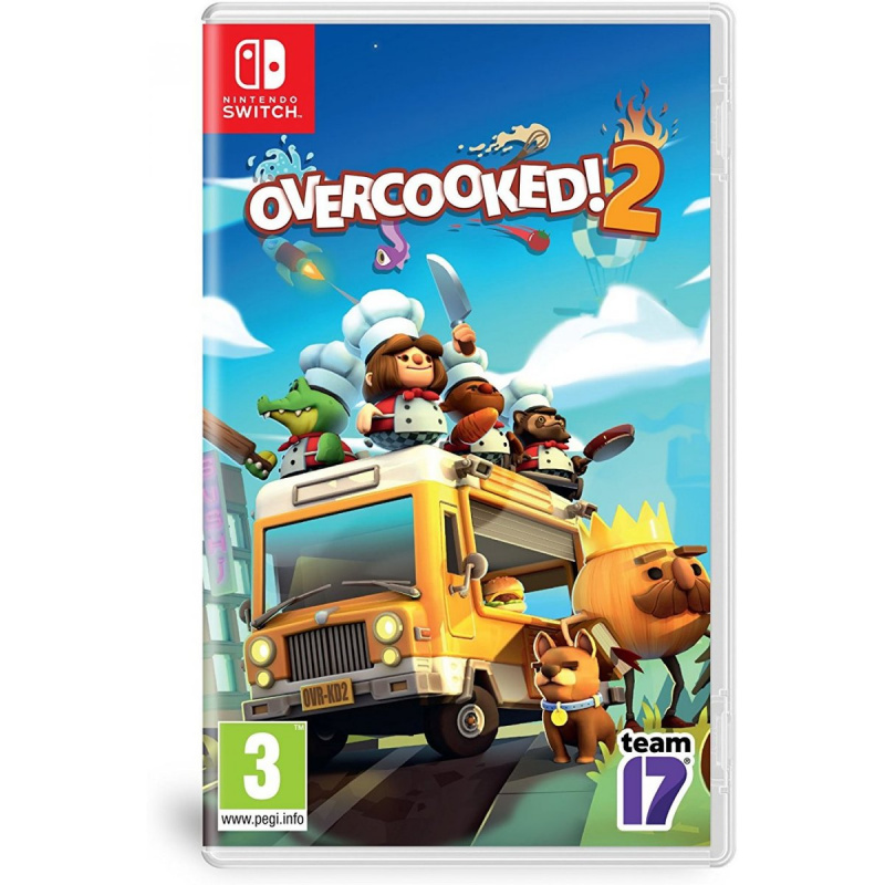 Nintendo Switch Games Overcooked 2 (EUR)