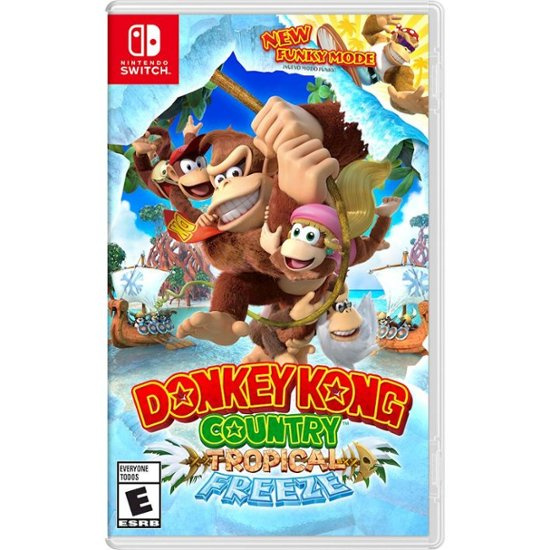 Nintendo Switch Games Donkey Kong Country: Tropical Freeze (JP)