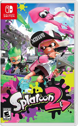 Nintendo Switch Games Splatoon 2 (US)