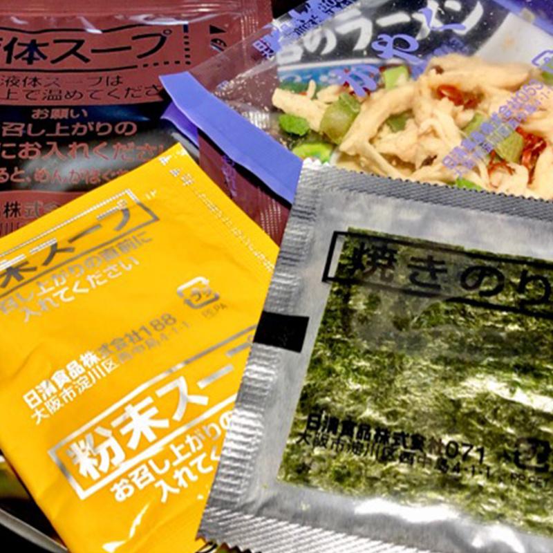 日清 - 日版日清【和歌山級】濃厚牡蠣蠔湯 鶏白湯拉麵 111g (4件裝)【市集世界 - 日本市集】