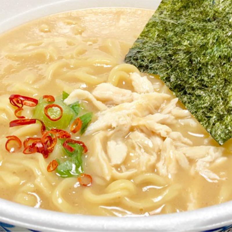 日版日清 濃厚牡蠣蠔湯 鶏白湯拉麵 111g (2件裝)