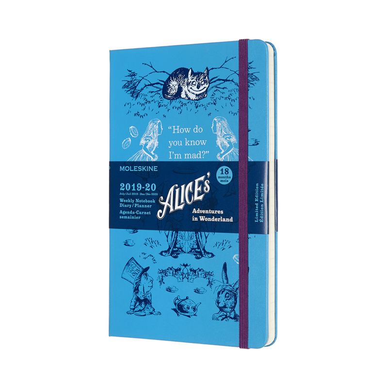 MOLESKINE 2019-2020限定愛麗絲手帳18M [三款]