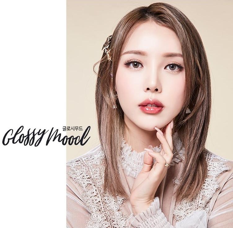 韓國 Lens Town Color 隱形眼鏡 Glossy Mood Brown(月拋)
