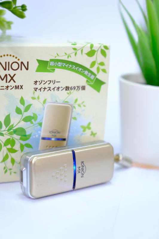 IONION MX 便攜負離子清新機[ 日本製造]