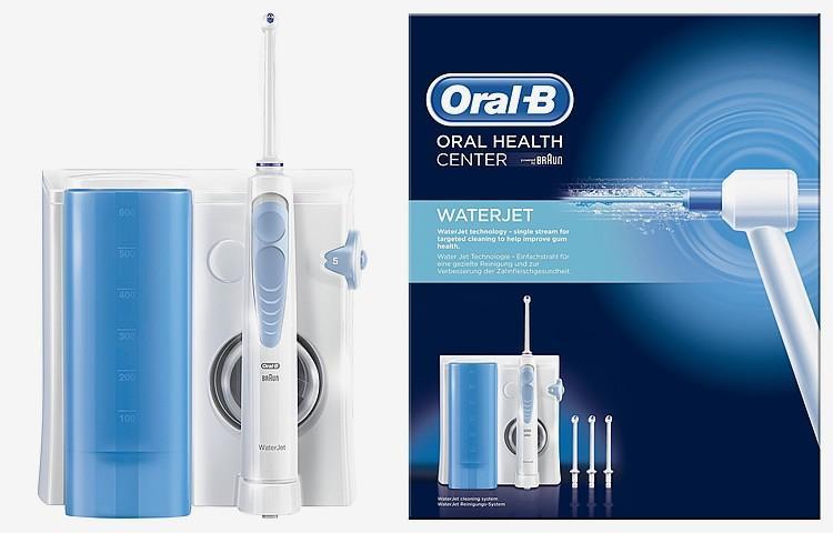Oral B WaterJet 洗牙器 MD16 (沖洗機連4支噴水頭優惠套裝)