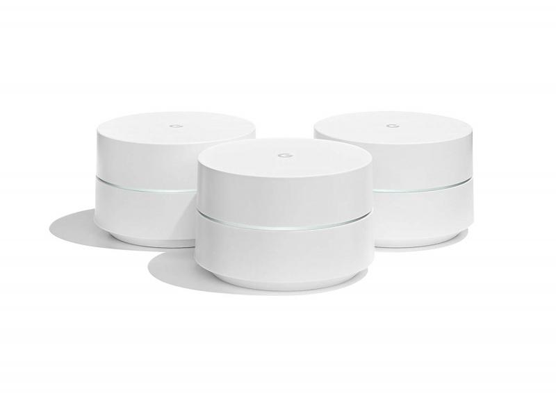 Google - Google WiFi 系統 三件裝 水貨