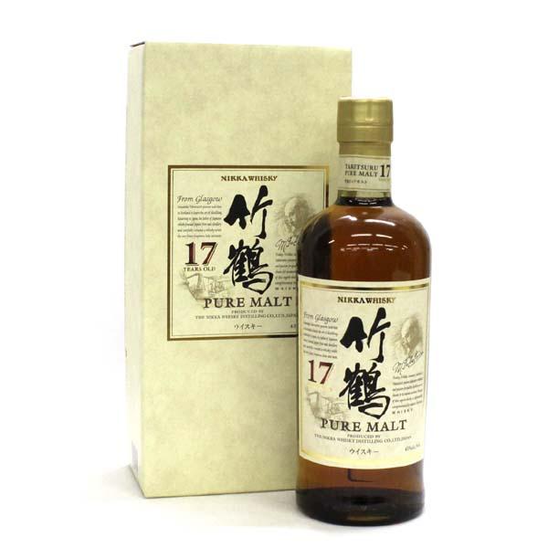 日本 竹鶴 純麥芽威士忌 Nikka Taketsuru Pure Malt 17年 700mL