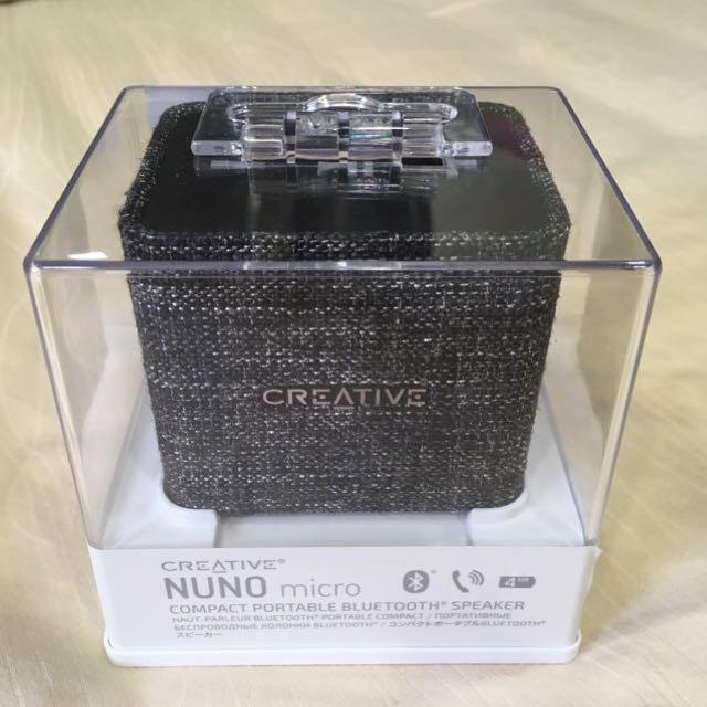 Creative NUNO micro 便攜式藍牙喇叭 [2色]