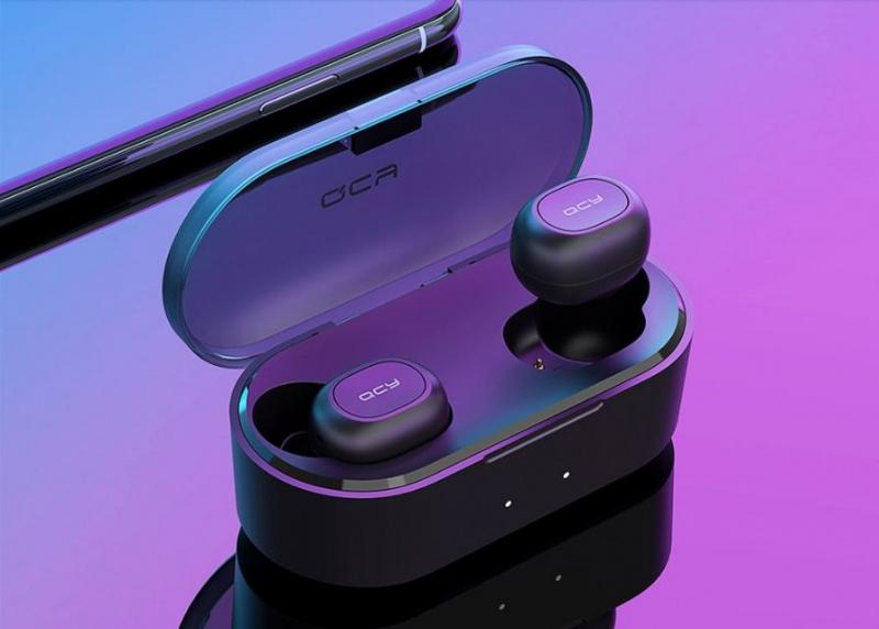 QCY T2C 迷你真無線藍牙5.0入耳式防水耳機【香港行貨,一年保養】
