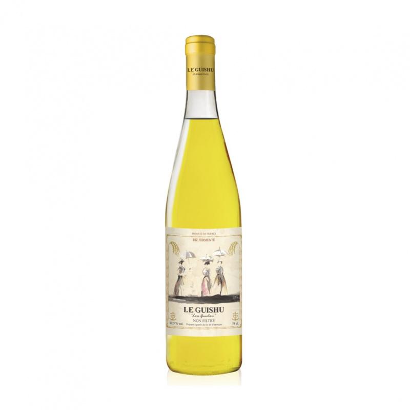 Le Guishu Non filtre Semi Dry NV 750mL 法國樂桂枝酒莊稻米酒 - 11061600