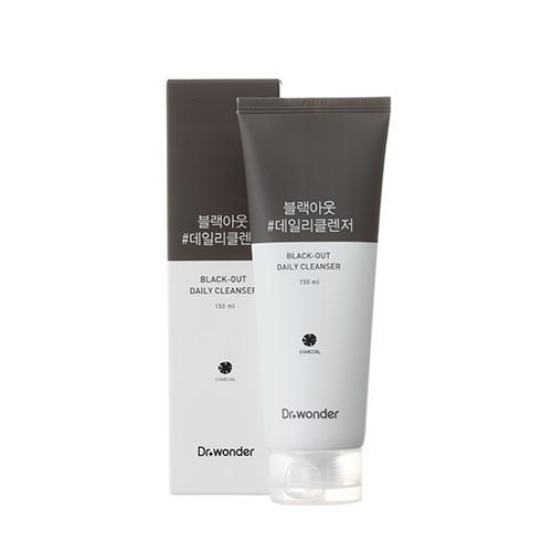 韓國Dr. Wonder 活性碳洗臉乳