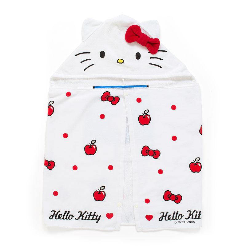日本SANRIO Hello Kitty 連帽毛巾 [3款]