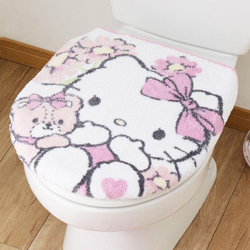 日本SANRIO Hello Kitty / Melody 廁所墊蓋套 [2款]