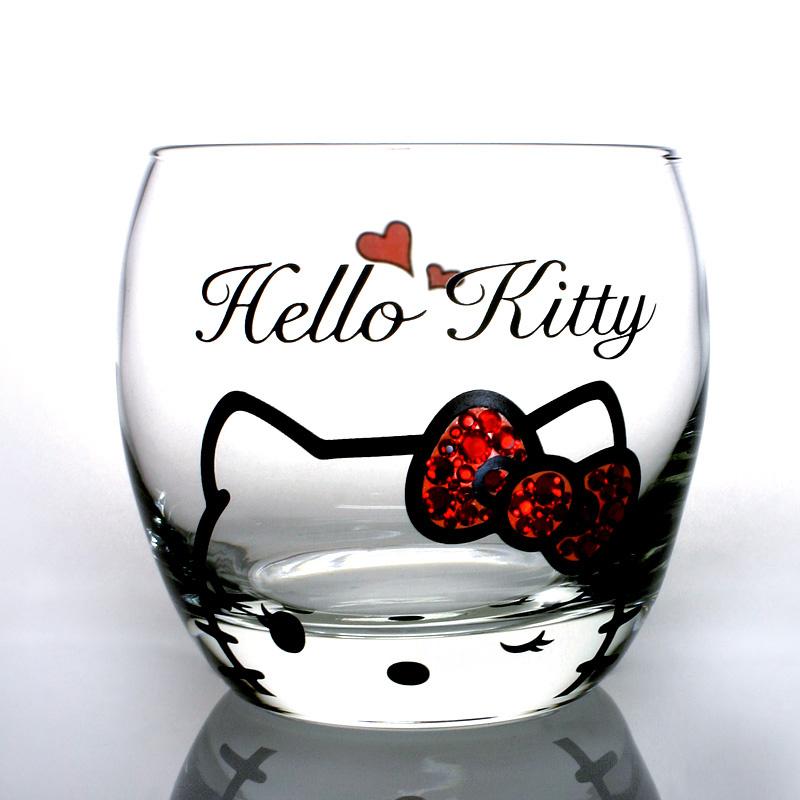 日本SANRIO Hello Kitty 玻璃杯 [4款]