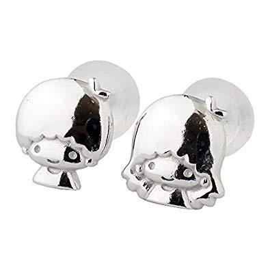 日本SANRIO Little Twins Star KIKI LALA 耳環 [2色]