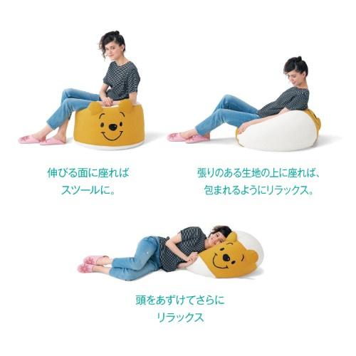 日本Disney 小熊維尼 / 三眼仔 梳化座椅 [4款]