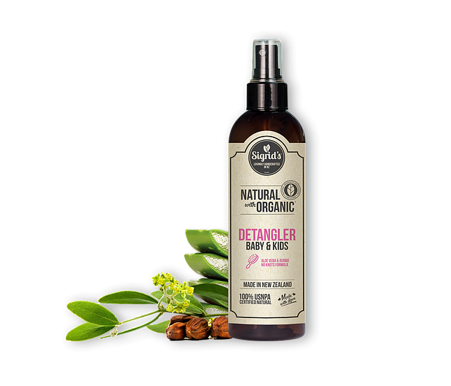 Sigrid's Natural & Organic Detangler Spray 250ml - 不打結天然護髮噴霧 - 適合嬰兒及小童