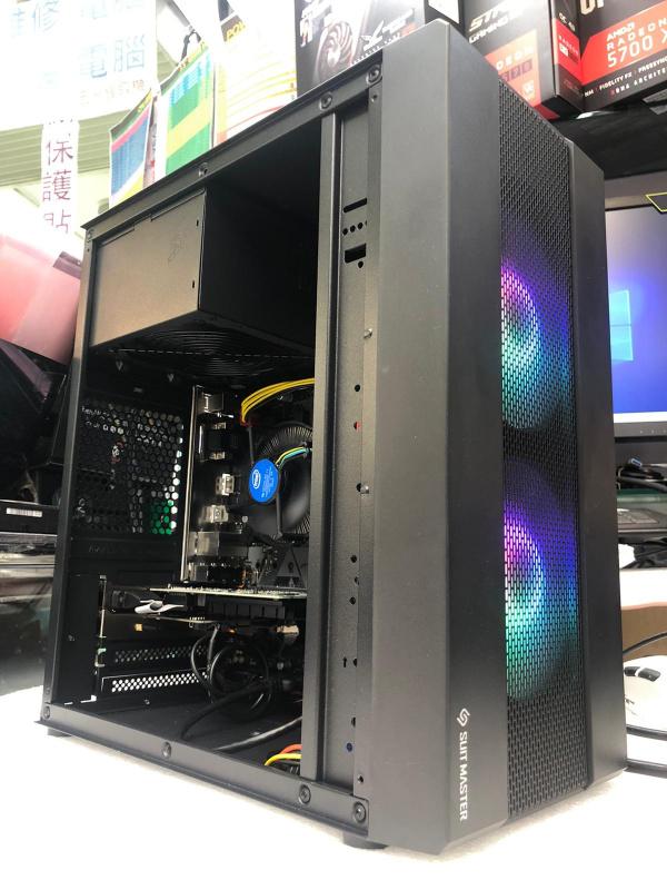 樂天電腦 F998 Intel i3-10100F /GEFORCE GT710 2G 家用文書辦公室组合